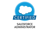 certified salesforce administrator logo